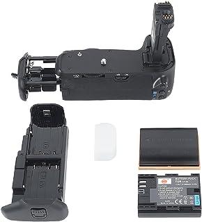 DSTE Multi-Poder Vertical Batería Apretón Titular para Canon EOS 70D DSLR Cámara Fotográfica como BG-E14 con 2-pack LP-E6