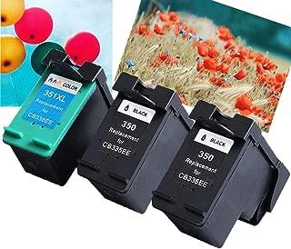 Teng® - Cartuchos compatibles con HP 350XL 351XL, 2 Negros/1 ...