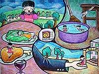 JSCTWCLジグソーパズル大人の娯楽のための500個木製パズルおもちゃパズルゲームおもちゃギフト子供たちの絵