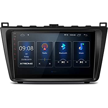 XTRONS Android 10.0 Car Stereo Radio Player 9 Inch IPS Touch Screen GPS Navigation Built-in DSP Bluetooth Head Unit Supports Full RCA Output Backup Camera WiFi OBD2 DVR TPMS for Honda CR-V 2007-2011