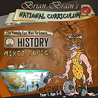 Brian Brain's National Curriculum KS1 Y1 History Mixed Topics cover art