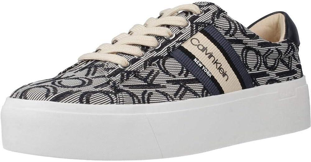 Calvin klein,scarpe sneakers per donna,in tessuto VO23CKJ965-36