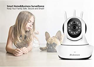 Surveillance Recorder Jennov 1080P 2Mp Hd Ptz Wireless Home Security Camera Video Surveillance IP Camera Wi-Fi Baby Monito...