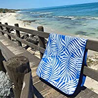 NewLyfe Sand Free Microfibre Beach Towel - Quick Dry, Extra Large 180x90cm Yet Ultra Compact and Lightweight for...