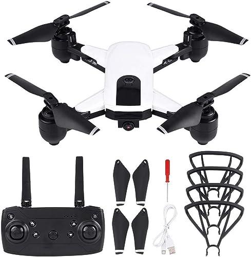 tiendas minoristas Drone RC Plegable con Cámara, 2.4GHz 720P 1080P WiFi WiFi WiFi Cámara Posicionamiento de Flujo óptico GPS Sin Cabeza Modo Mantener la Altitud RC Quadcopter(720P-blanco)  encuentra tu favorito aquí