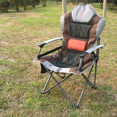 Outdoor pieghevole sedia da campeggio Beach Chair pesca Chair in lega di alluminio Poltrona regolabile