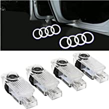 Car LED Door Lights Projector Logo Ghost Lights Welcome Lamp Puddle Lights for Audi A3 A4 A5 A6 A7 A8 Q2 Q3 Q5 Q7 R8 RS S-...