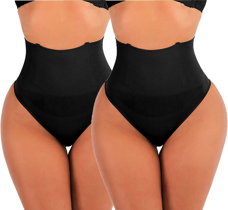 Thong Shapewear Waist Cincher Girdle Tummy Control Panties Body Shaper for Women Butt Lifter Seamless Panty