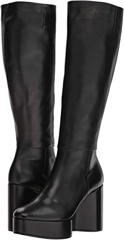 Black Leather Calf