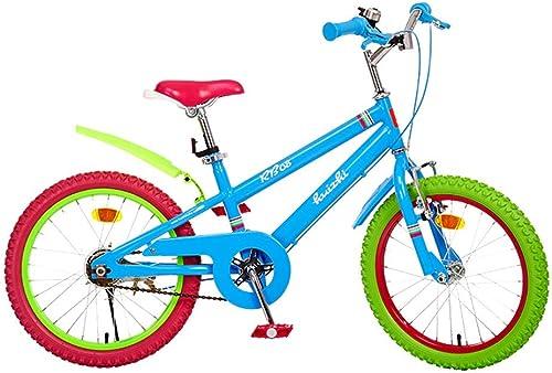 tienda hace compras y ventas Fenfen Bicicletas para Niños 6-14 Bicicletas para Niños Niños Niños y niñas 16 Pulgadas Marco de Acero con Alto Contenido de Carbono de 18 Pulgadas (Tamaño   18 Inches)  precios bajos todos los dias