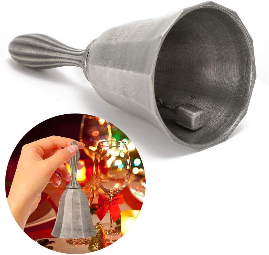 Campanas de mano Campana de llamada Campana de mano Campana de servicio Campana de boda Campana de cena Campana de escuela Campana para aulas personas Ancient tin silver bares