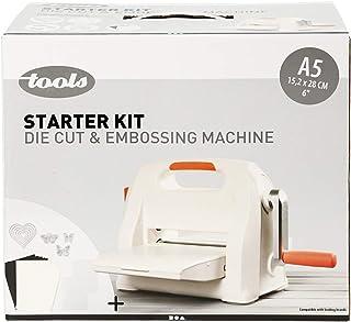 Kit débutant - Machine à couper et à embosser, A5 15,5x21 cm, Feuille d'une largeur max. de 15,5 cm, 1set