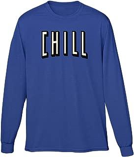 Blittzen Mens Long Sleeve T-shirt And Chill