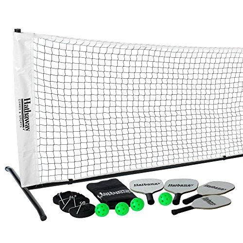 Hathaway Deluxe Pickleball Game Set Black