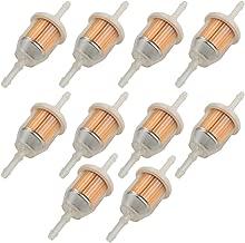 Fuel Li Pack of 10 Fuel Filter for John Deere AM116304 Kohler 25 050 22-S Exmark 109585 Bobcat 38666 Onan 149-2206-01 Gravely 21541500 Toro 98021 Stens 120 436
