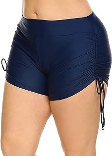 IN'VOLAND Women's Plus Size Swim Shorts Boardshorts, Swimsuit Swimwear Tankini Shorts, Bikini Swim Bottom