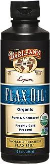 Barlean's Organic Lignan Flax Oil, 12-oz