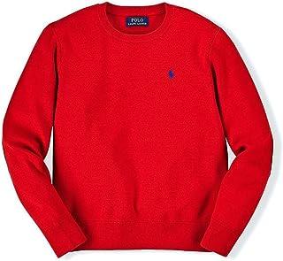 [ポロ ラルフローレン キッズ] POLO RALPH LAUREN CHILDREN 正規品 子供服 ボーイズ セーター ELBOW PATCH COTTON SWEATER 67830796 並行輸入品 (コード:4096816311)