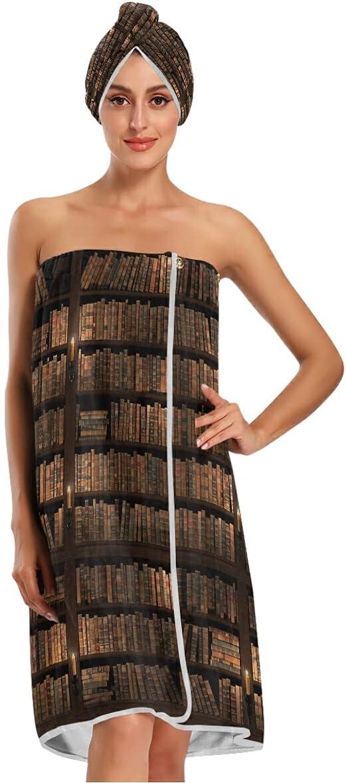 SEULIFE Bath Max 81% OFF Towel Max 79% OFF Wrap Set Body Light Library S Bookshelf