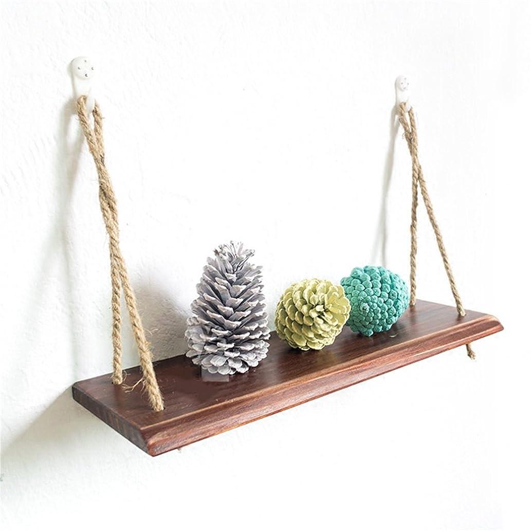 式発明するテーマDjyyh 棚の棚の木の壁の棚は、本棚の棚のように居間のために吊り下げる壁掛けの棚板の装飾のデザイン (Color : #1, Size : 1 tier)