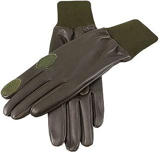 Dents Mens Royale Left Hand Leather Shooting Gloves - Olive