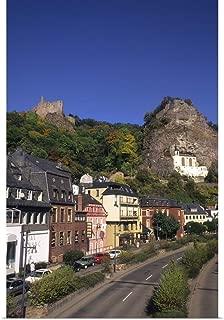 GREATBIGCANVAS Poster Print Germany, Idar Oberstein, Church in The Rock in Idar Oberstein Germany by John Bachmann 12