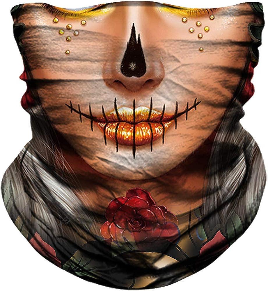YOSUNPING shipfree Seamless Skull Classic Skeleton Flag Face Mask