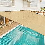 Sunnylaxx Vela de Sombra Rectangular 3 x 4 Metros, toldo Resistente y...
