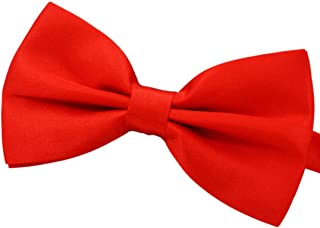 Amajiji Formal Dog Bow Ties for Medium & Large Dogs (D112 100% Polyester)