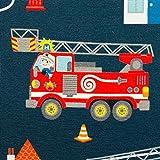 Sweat Feuerwehr, Tatütata by Sandra Kretzmann, dunkelblau