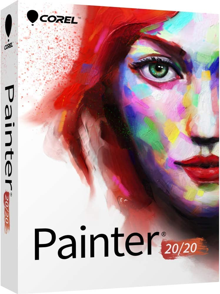 Corel Painter 2020 Digital Art Studio Disc Popular - Mac PC Ol Ranking TOP13 Upgrade