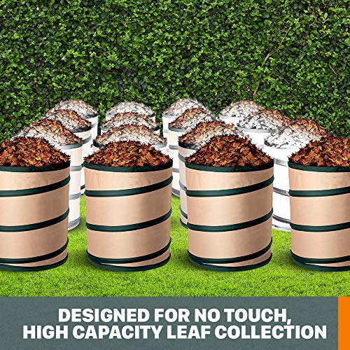 WORX WA4058 LeafPro Universal Leaf Collection System for All Major Blower/Vac Brands, Black/Orange