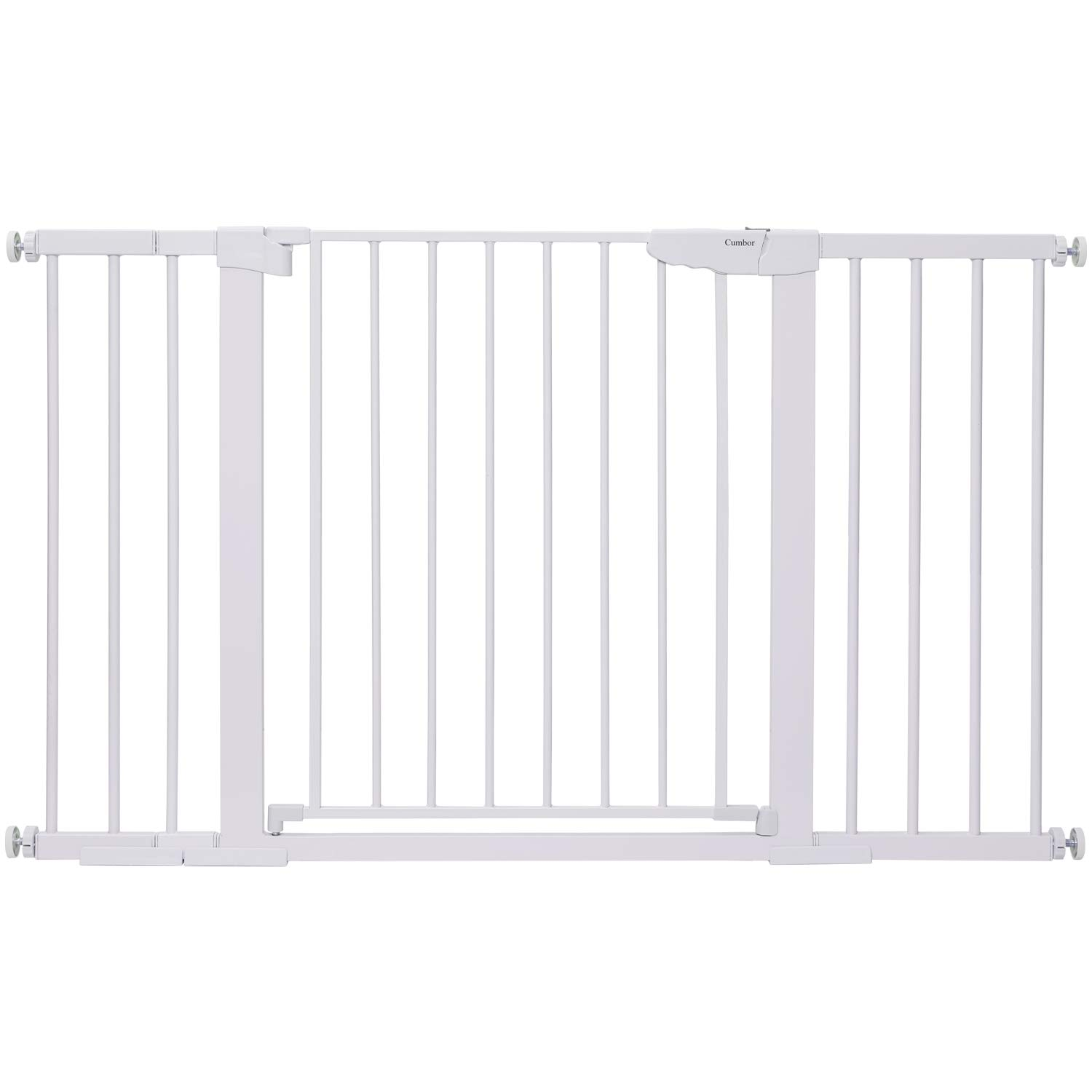 GYMAX Extensible Isolated Barrier Net Install Anywhere Easy Latch and Retractable Design 130 x 88cm Mesh Safety Gates for Babies and Pets