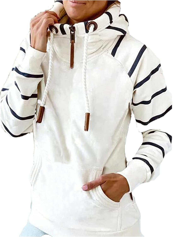 Womens Hoodies Graphic High Raleigh Mall Collar Sweatshirt Pullov Quarter Ranking TOP19 Zip