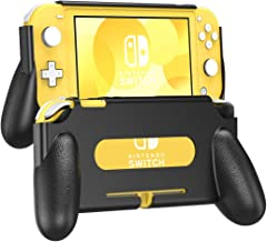 TiMOVO Grip Cover for Nintendo Switch Lite Case, Comfortable Protective Ergonomic Cover Durable Shock-Absorbant Stand Hand...