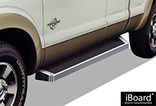 APS iBoard Running Boards Style Custom Fit 1999-2016 Ford F250 F350 Super Duty Extended Cab Pickup 4-Door (Nerf Bars Side Steps Side Bars)