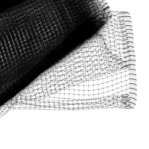 Bird B Gone UN-341 Garden Bird Netting Mesh, 3/4-Inch by 14-Feet by 100-Feet, Black