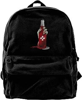 Mochila de lona Juggernog para gimnasio, senderismo, portátil, bolsa de hombro para hombres y mujeres