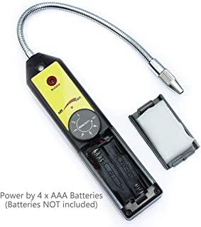 Mrcartool Refrigerant Freon Leak Detector Refrigerant Gas Leakage Tester for HFC CFC Halogen R134a R410a R22a R600a R290 Air Condition HVAC
