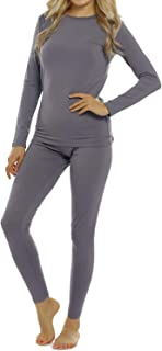 ViCherub Womens Thermal Underwear Set Long Johns with Fleece Lined Ultra Soft Top & Bottom Base Layer Thermals for Women