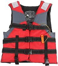 Watersport reddingsvest voor volwassenen kinderen, drijvend reddingsvest Hulpvest met verstelbare veiligheidsriem, drijfve...