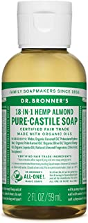 Dr. Bronner's - Pure-Castile Liquid Soap (Almond, Travel Size, 2 Ounce)