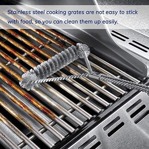Denmay 7639 Spirit 700 Genesis Platinum B /& C Genesis Gold B /& C 304 Stainless Steel Cooking Grates for Weber Spirit 300 Series Genesis Silver B /& C