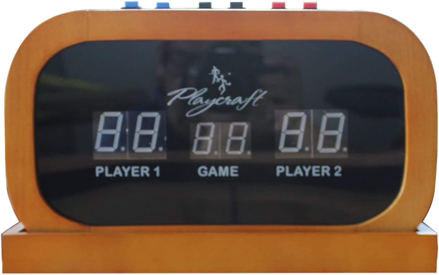 Playcraft Electronic Scorer for Home Recreation Shuffleboard Table, Honey, 11