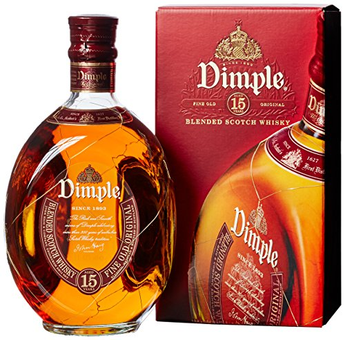 Dimple 15 Jahre, Blended Scotch Whisky (1 x 1l)
