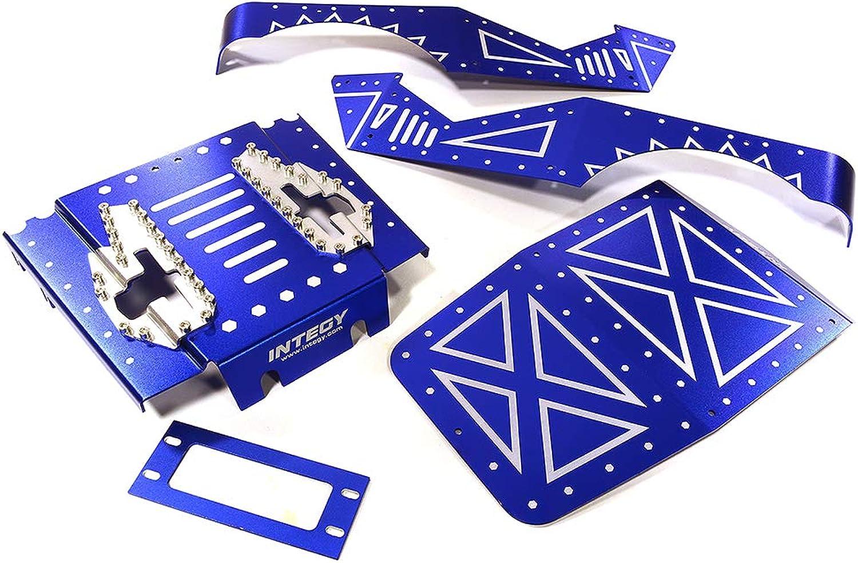 Integy RC Model Hop-ups C27671Blau Aluminum Alloy Body Panel Kit for Axial 1 10 Wraith Rock Racer B076DTVRDD Starker Wert | Rich-pünktliche Lieferung