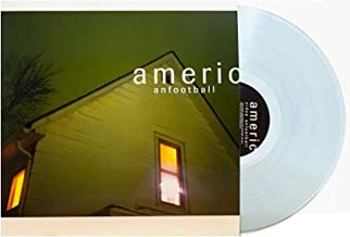 American Football - Exclusive Limited Edition 180 Gram Clear With Blue Smoke Vinyl LP