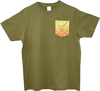 鬼滅の刃風Tシャツ 我妻 善逸モデル カジュアル ワンポイント 半袖シャツ 半袖Tシャツ Mサイズ