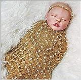 HKMA Reborn Baby Doll Simulación Silicona Cuerpo Completo Bebé Realista Linda Newborn Dolls Bebé para Regalos,Boy