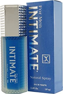 Jean Philippe Intimate Eau De Toilette Spray for Men, Blue, 3.3 Ounce